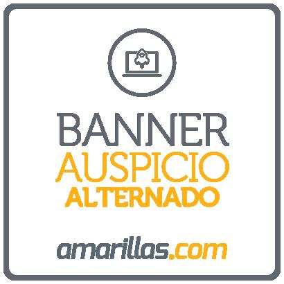 Banner Auspicio Alternado Amarillas.com