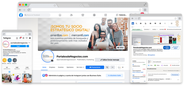 Social Media PortalesdeNegocios.com
